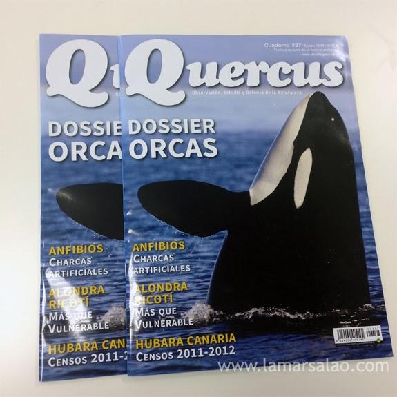 La Mar Salao sorteo revista quercus