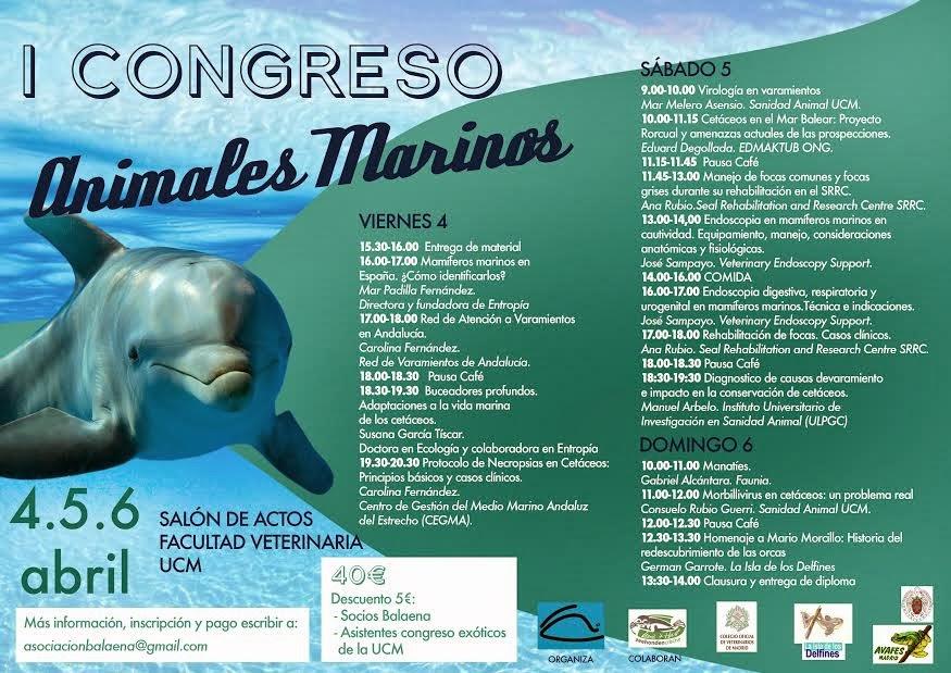 La mar salao I congreso animales marinos