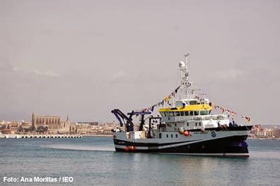 La Mar Salao buque oceanográfico