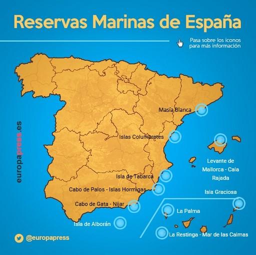 La Mar Salao 10 reservas marinas españa