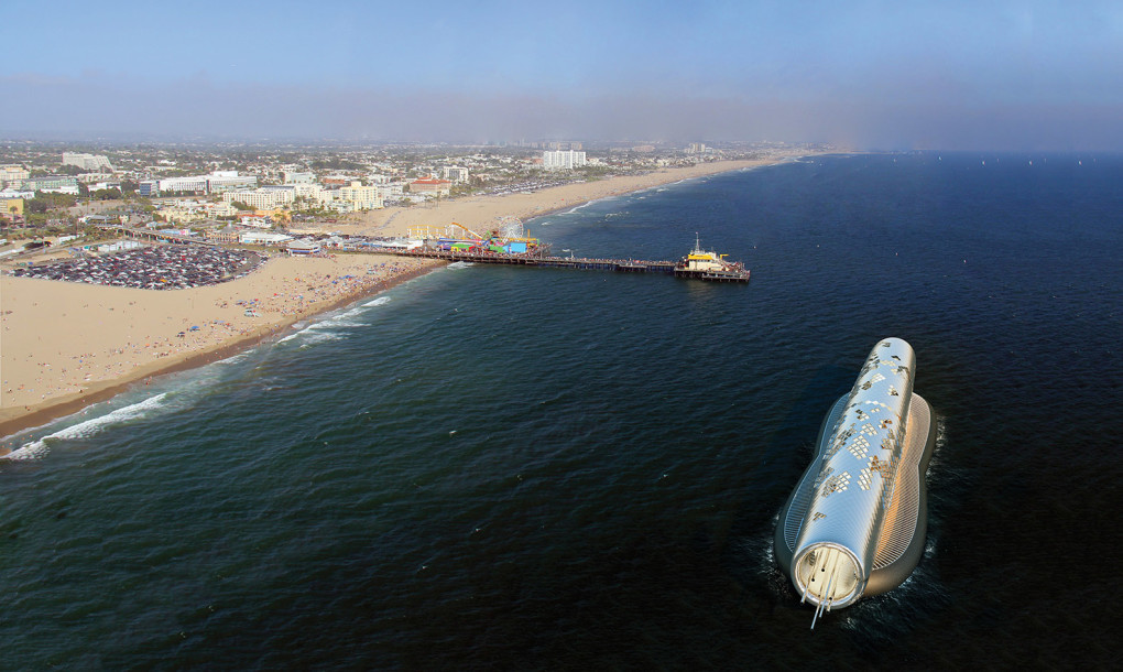 La Mar Salao tubo purificar agua mar